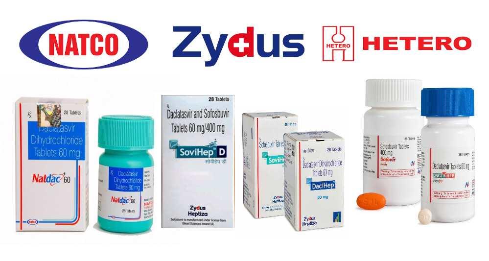 Лечение гепатита С индийскими дженериками